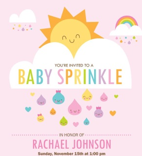 baby sprinkle, baby shower, invitation, baby shower invitation, high risk pregnancy, pregnancy, pregnant, fit pregnancy, healthy pregnancy